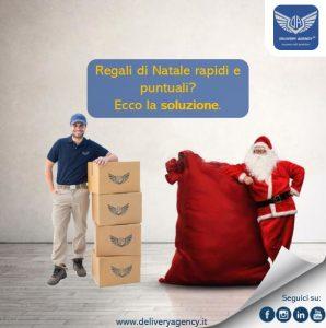 Consegne Regali di Natale Delivery Agency